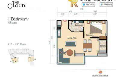14-The-Cloud-Condo-Pratamnak-Pattaya-Купить-Квартиру-в-Паттайе-снять-в-аренду-агентство-недвижимости-Royal-Property