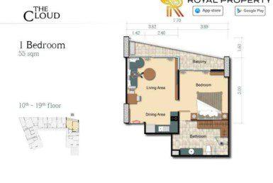 15-The-Cloud-Condo-Pratamnak-Pattaya-Купить-Квартиру-в-Паттайе-снять-в-аренду-агентство-недвижимости-Royal-Property