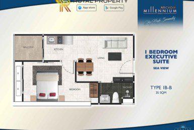 Arcadia-Millennium-Tower-Condo-Pattaya-купить-квартиру-в-Паттайе-аренда-апартаментов-агентство-недвижимости-Royal-Property-Type-1B-B-35-sqm-1024x724