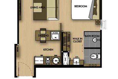 Cetus-Condo-Jomtien-plan-type-a-1-Купить-квартиру-в-паттайе-таиланд