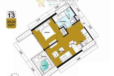 Copacabana-Golf-Jomtien-Pattaya-купить-квартиру-в-Паттайе-снять-в-аренду-апартаменты-агентство-недвижимости-Royal-Property-13-1024x736