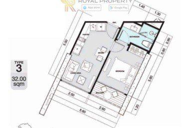 Copacabana-Golf-Jomtien-Pattaya-купить-квартиру-в-Паттайе-снять-в-аренду-апартаменты-агентство-недвижимости-Royal-Property-3-1024x736