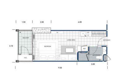 One-Tower-Pratumnak-Pattaya-unit-plan-TypeA-Studio-недвижимость-в-Таиланде-купить-квартиру-снять-в-аренду-Royal-Property-724x1024