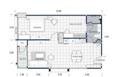 One-Tower-Pratumnak-Pattaya-unit-plan-TypeB2-OneBed-недвижимость-в-Таиланде-купить-квартиру-снять-в-аренду-Royal-Property-724x1024