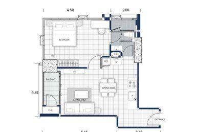 One-Tower-Pratumnak-Pattaya-unit-plan-TypeC-OneBed-недвижимость-в-Таиланде-купить-квартиру-снять-в-аренду-Royal-Property-724x1024