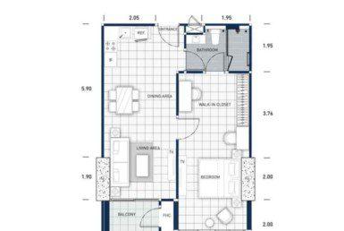 One-Tower-Pratumnak-Pattaya-unit-plan-TypeD3-OneBed-недвижимость-в-Таиланде-купить-квартиру-снять-в-аренду-Royal-Property-724x1024