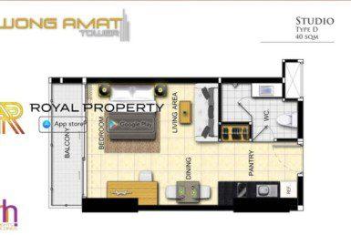 Wongamat-Tower-Naklua-Pattaya-unit-plan-room-d-купить-квартиру-в-Паттайе-Таиланд-агентство-недвижимости-Royal-Property-1024x621