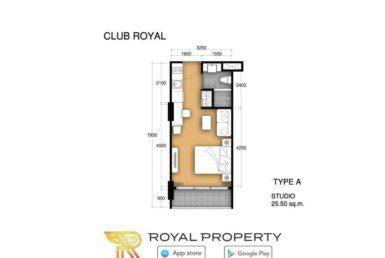 club-royal-wongamat-condominium-unit-plan-купить-квартиру-в-Паттайе-снять-в-аренду-Royal-Property-Thailand-A