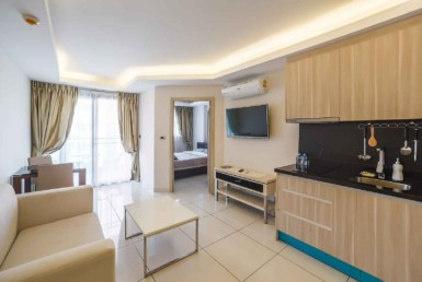 LBRJ 1 - 1 bedroom id236 Jomtien 37 sq.m.