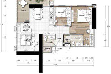 11-Del-Mare-Jomtien-Pattaya-Купить-Квартиру-в-Паттайе-снять-в-аренду-агентство-недвижимости-Royal-Property