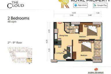16-The-Cloud-Condo-Pratamnak-Pattaya-Купить-Квартиру-в-Паттайе-снять-в-аренду-агентство-недвижимости-Royal-Property-1024x724