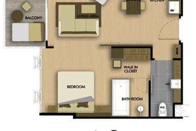 Cetus-Condo-Jomtien-plan-type-a-2-Купить-квартиру-в-паттайе-таиланд