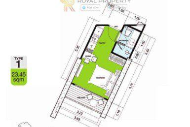 Copacabana-Golf-Jomtien-Pattaya-купить-квартиру-в-Паттайе-снять-в-аренду-апартаменты-агентство-недвижимости-Royal-Property-1-1024x736