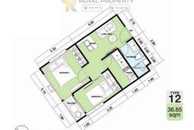 Copacabana-Golf-Jomtien-Pattaya-купить-квартиру-в-Паттайе-снять-в-аренду-апартаменты-агентство-недвижимости-Royal-Property-12-1024x736