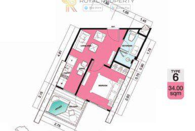 Copacabana-Golf-Jomtien-Pattaya-купить-квартиру-в-Паттайе-снять-в-аренду-апартаменты-агентство-недвижимости-Royal-Property-6-1024x736
