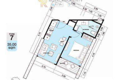 Copacabana-Golf-Jomtien-Pattaya-купить-квартиру-в-Паттайе-снять-в-аренду-апартаменты-агентство-недвижимости-Royal-Property-7-1024x736