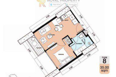 Copacabana-Golf-Jomtien-Pattaya-купить-квартиру-в-Паттайе-снять-в-аренду-апартаменты-агентство-недвижимости-Royal-Property-8-1024x736