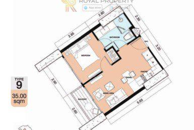 Copacabana-Golf-Jomtien-Pattaya-купить-квартиру-в-Паттайе-снять-в-аренду-апартаменты-агентство-недвижимости-Royal-Property-9-1024x736