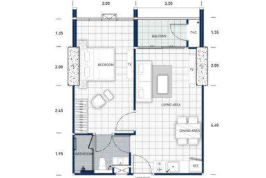 One-Tower-Pratumnak-Pattaya-unit-plan-TypeD2-OneBed-недвижимость-в-Таиланде-купить-квартиру-снять-в-аренду-Royal-Property-724x1024