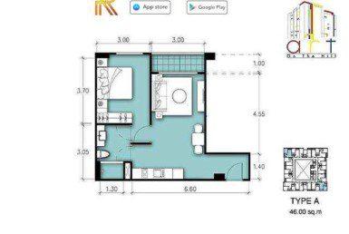 TYPE-A-Art-on-The-Hill-Pratamnak-Pattaya-Купить-Квартиру-в-Паттайе-снять-в-аренду-агентство-недвижимости-Royal-Property-1