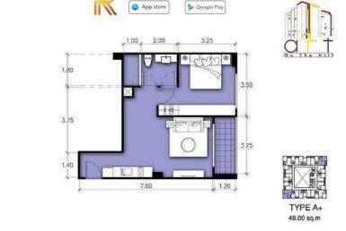 TYPE-A-Art-on-The-Hill-Pratamnak-Pattaya-Купить-Квартиру-в-Паттайе-снять-в-аренду-агентство-недвижимости-Royal-Property
