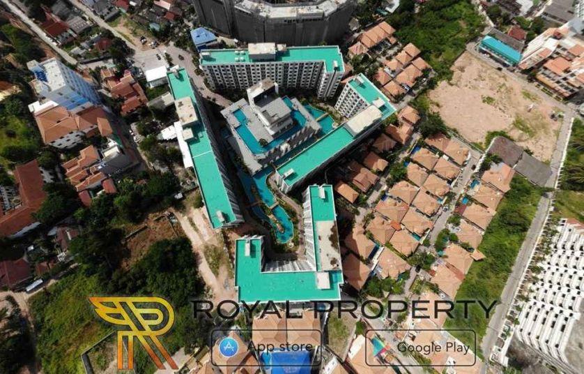 arcadia beach resort condominium thappraya купить квартиру в Паттайе снять в аренду Royal Property Thailand -сверху